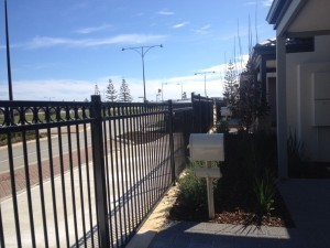 Circle Top Steel Fence