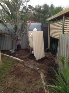 Asbestos fence removal process - 2