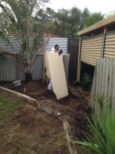 Asbestos fence removal process - 4