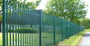 Palisade style Security Fencing