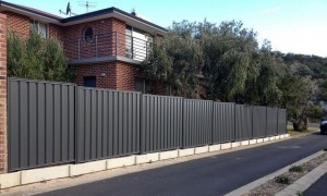 Colorbond fence in Perth