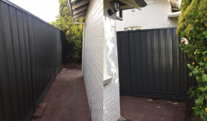 Colorbond fencing installation in Perth – Ironstone