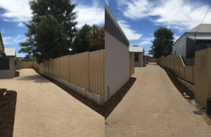 Colorbond fencing installation in Perth - Domain