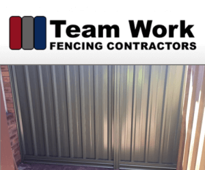 Perth Colorbond fencing - Team Work Fencing Contractors