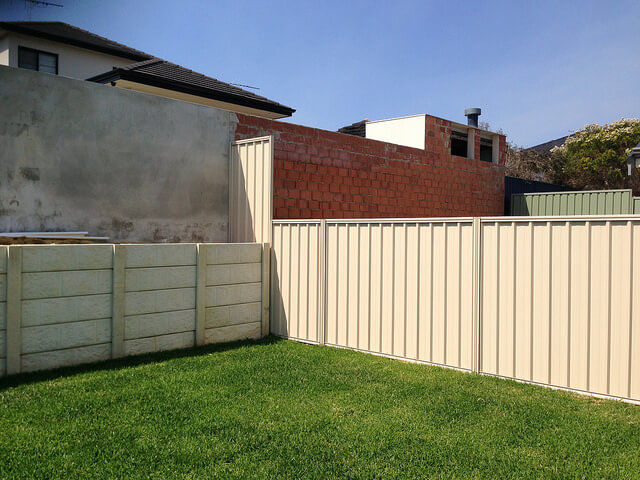 Custom Colour Colorbond Fencing Perth