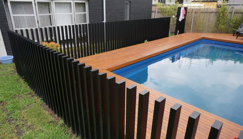 Custom Pool Fence Poles Perth