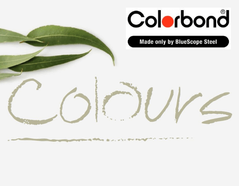 New Colorbond Fence colours