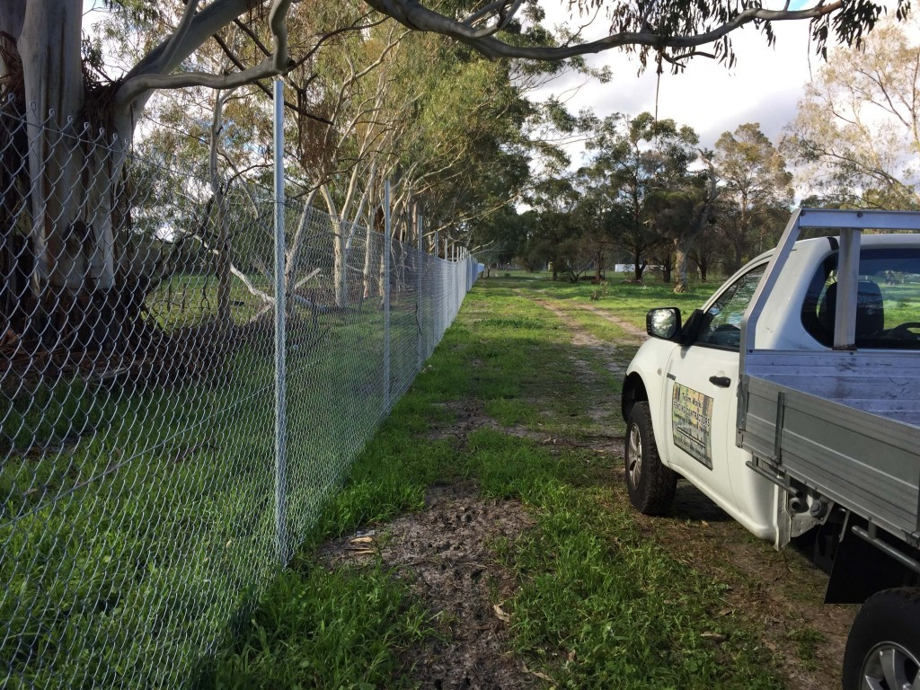 Chain Mesh Security Fencing Perth WA