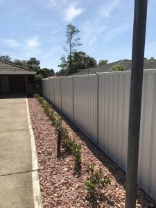 Colorbond and Hardie Fencing in Perth