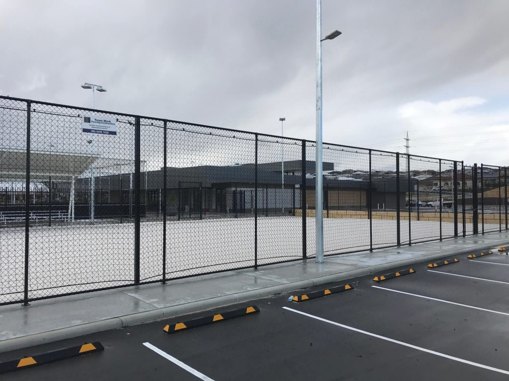 Tennis Court Chain Link Fence Perth