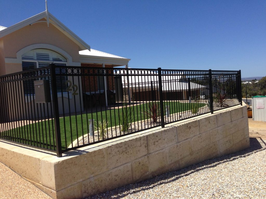 Decorative Commercial Fence