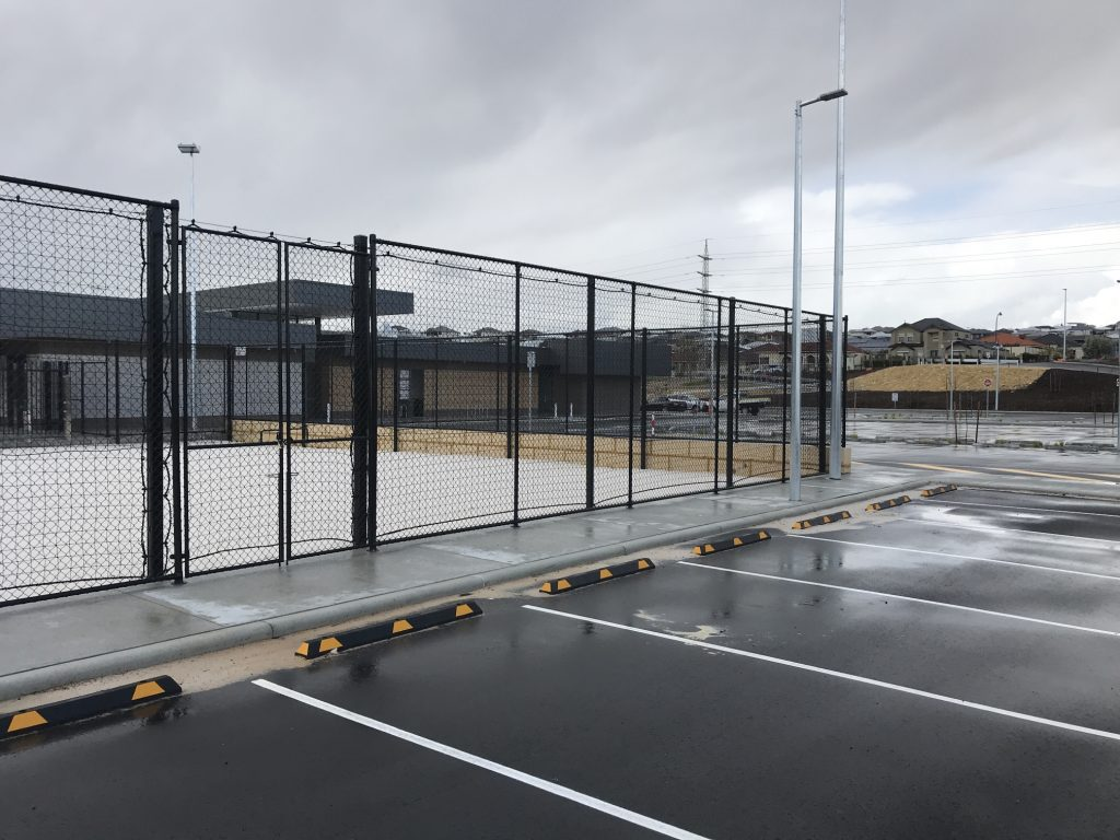 Tennis Court Chain Link Fence & Gate Perth