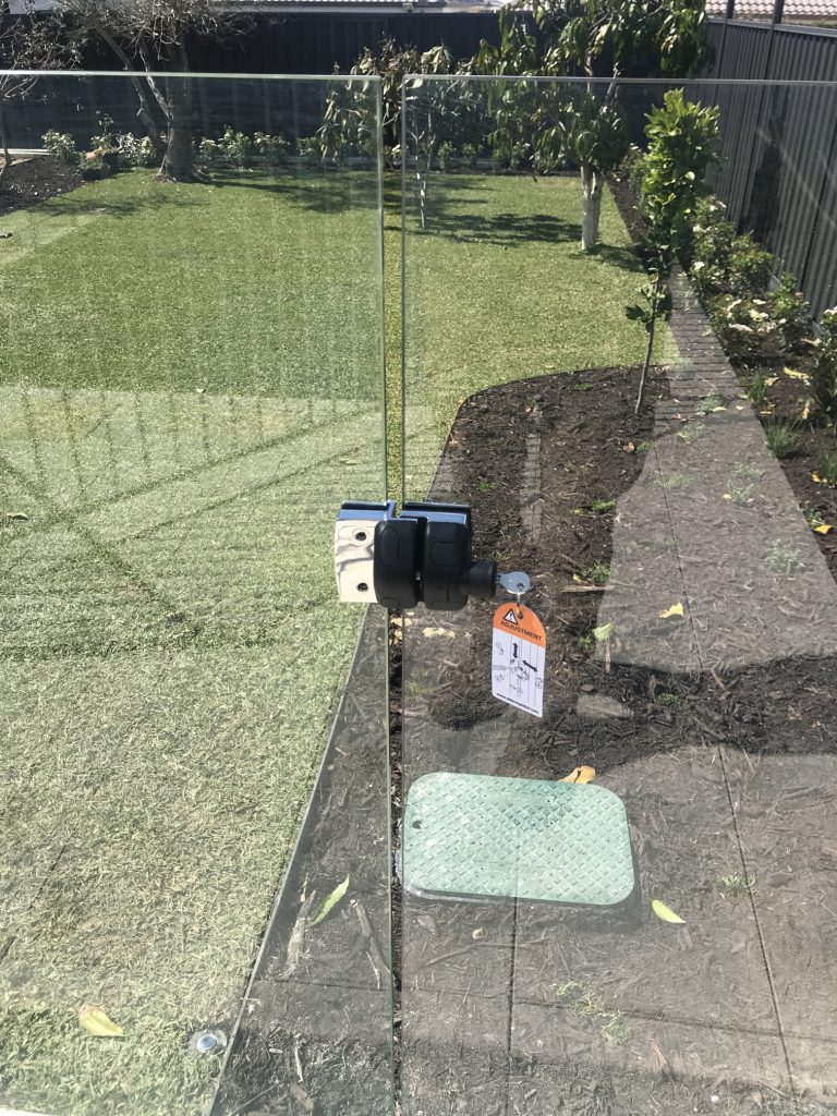 Glass Pool Fence Gate