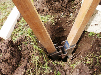 Dig Retaining Wall Posts