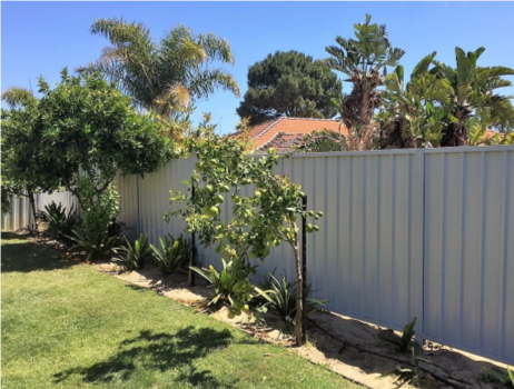 Installation Guide Retaining Colorbond Fencing Perth