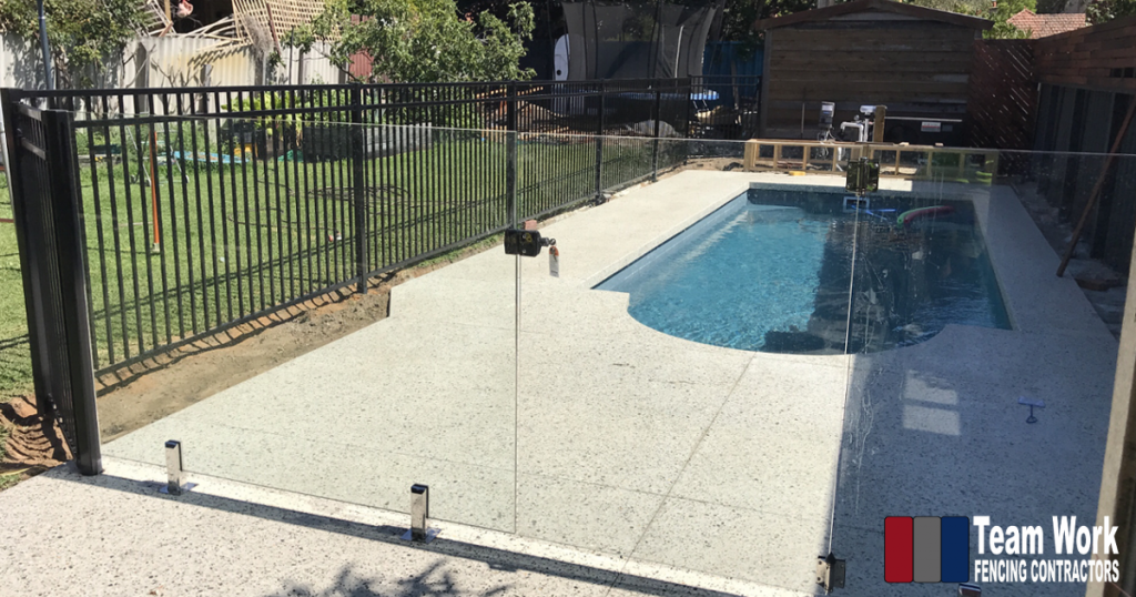 Glass Pool Fencing Installation in North Perth WA