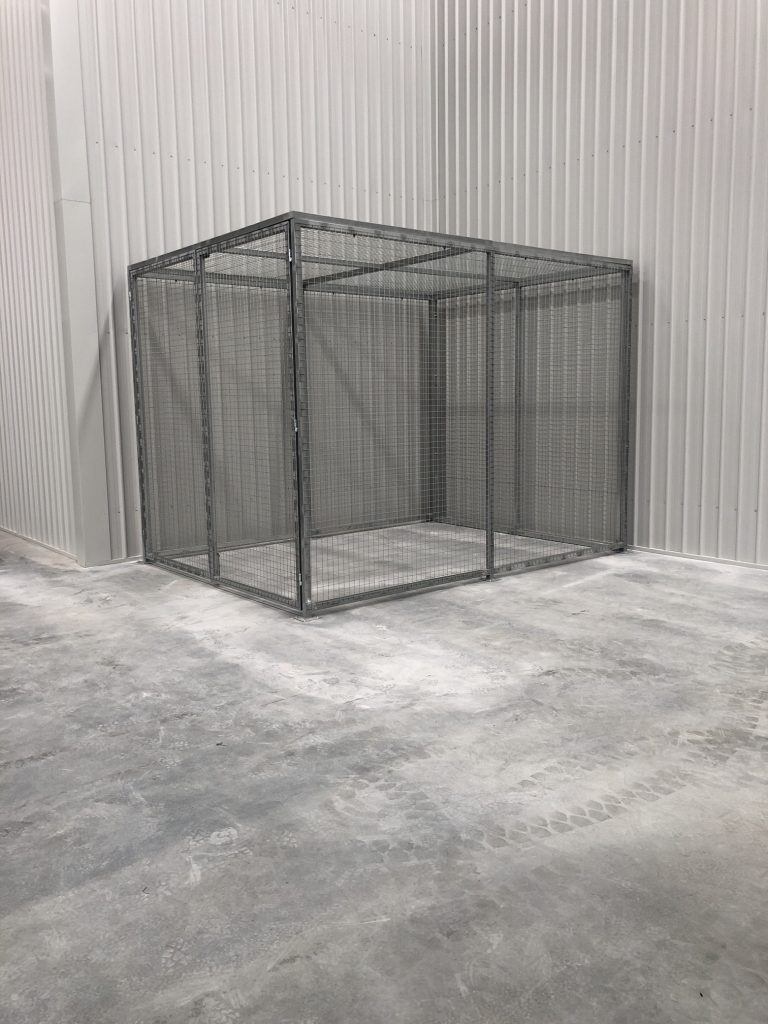 Car Park Storage Cages - Chain Mesh Storage Cage