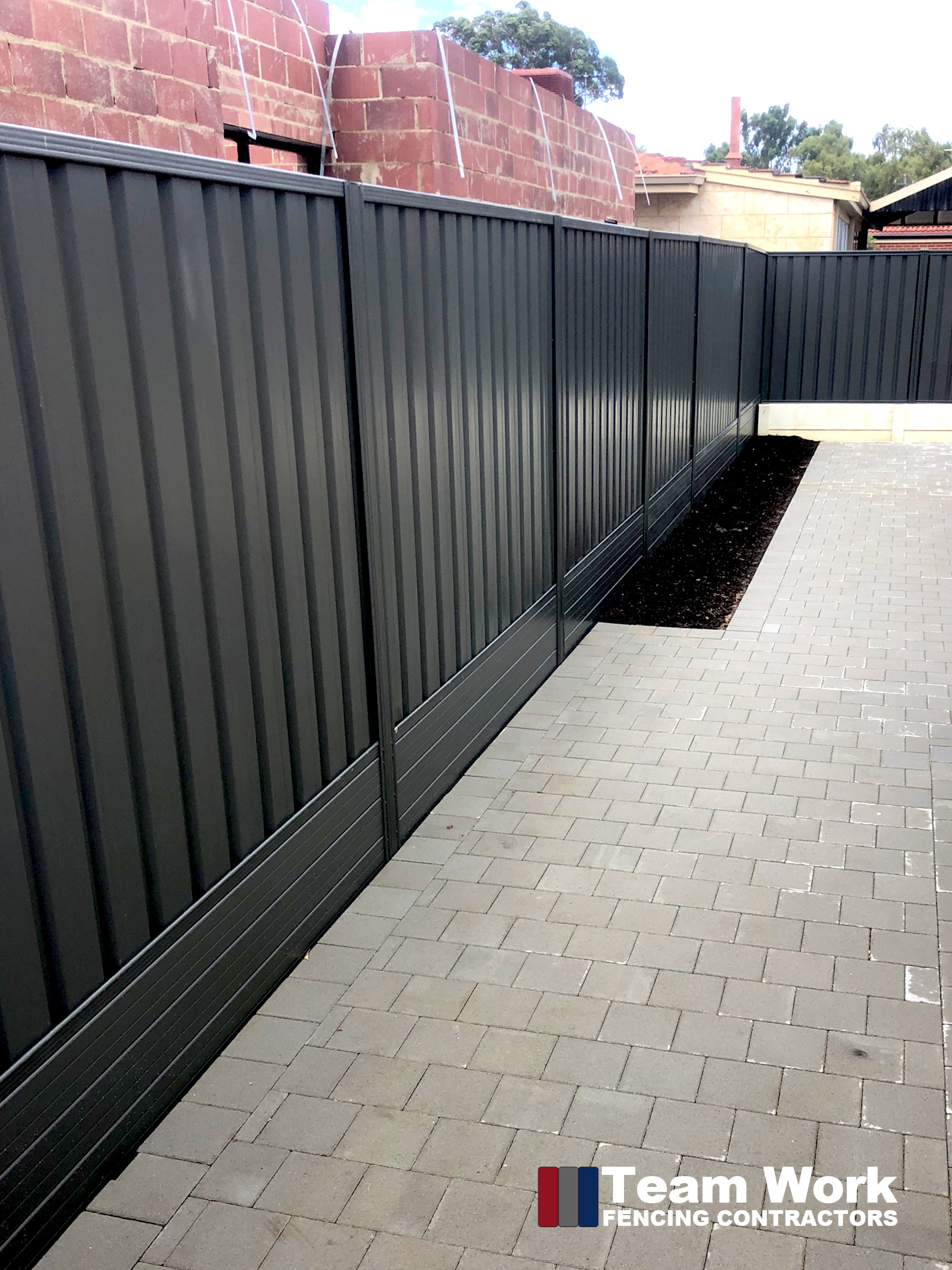 Colorbond Allywall Black