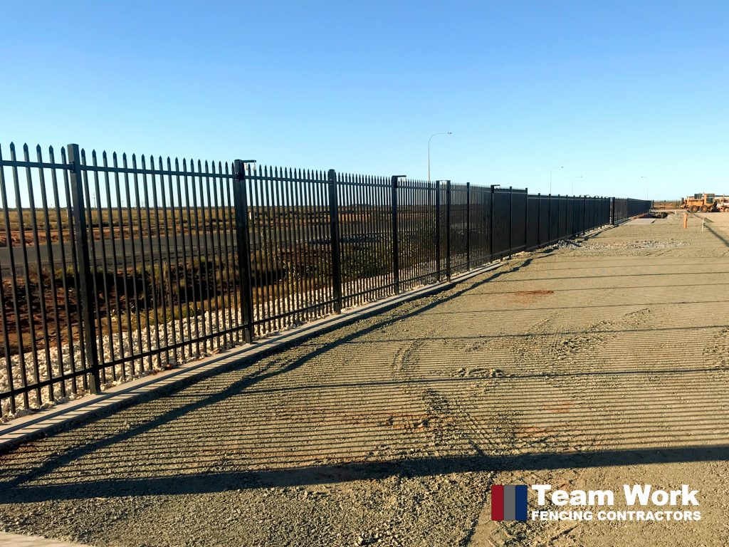Black Garrison Security Fencing