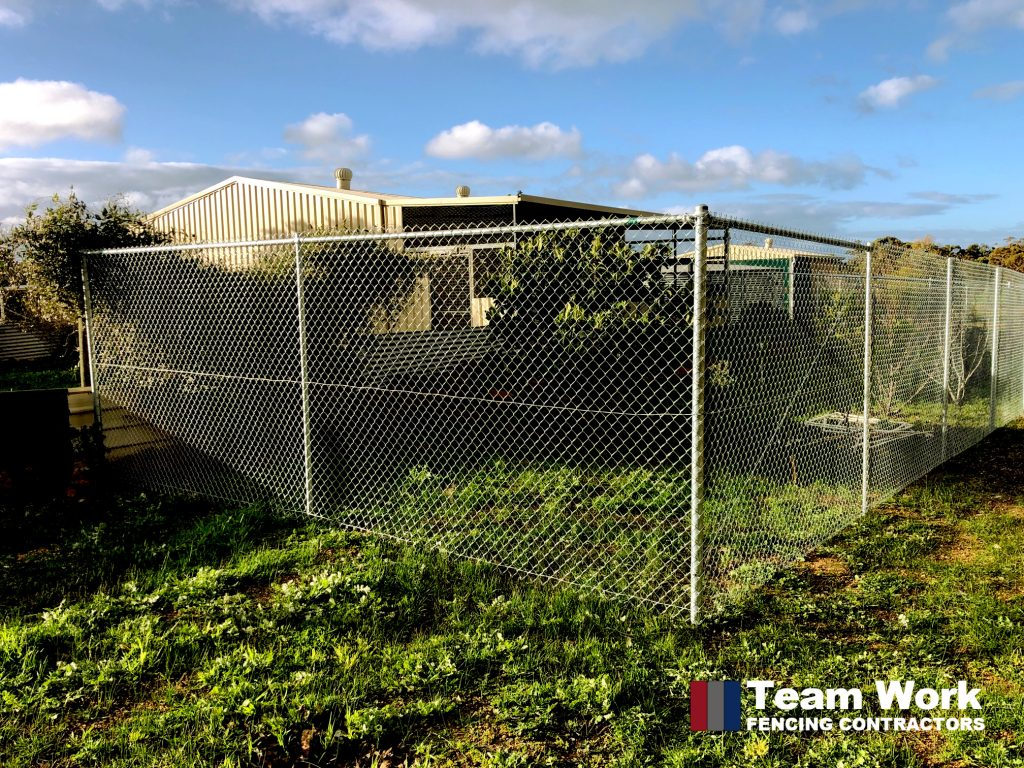 Chainmesh Fencing and Gates Installed in Bakers Hill WA by Team Work Fencing Contractors Perth