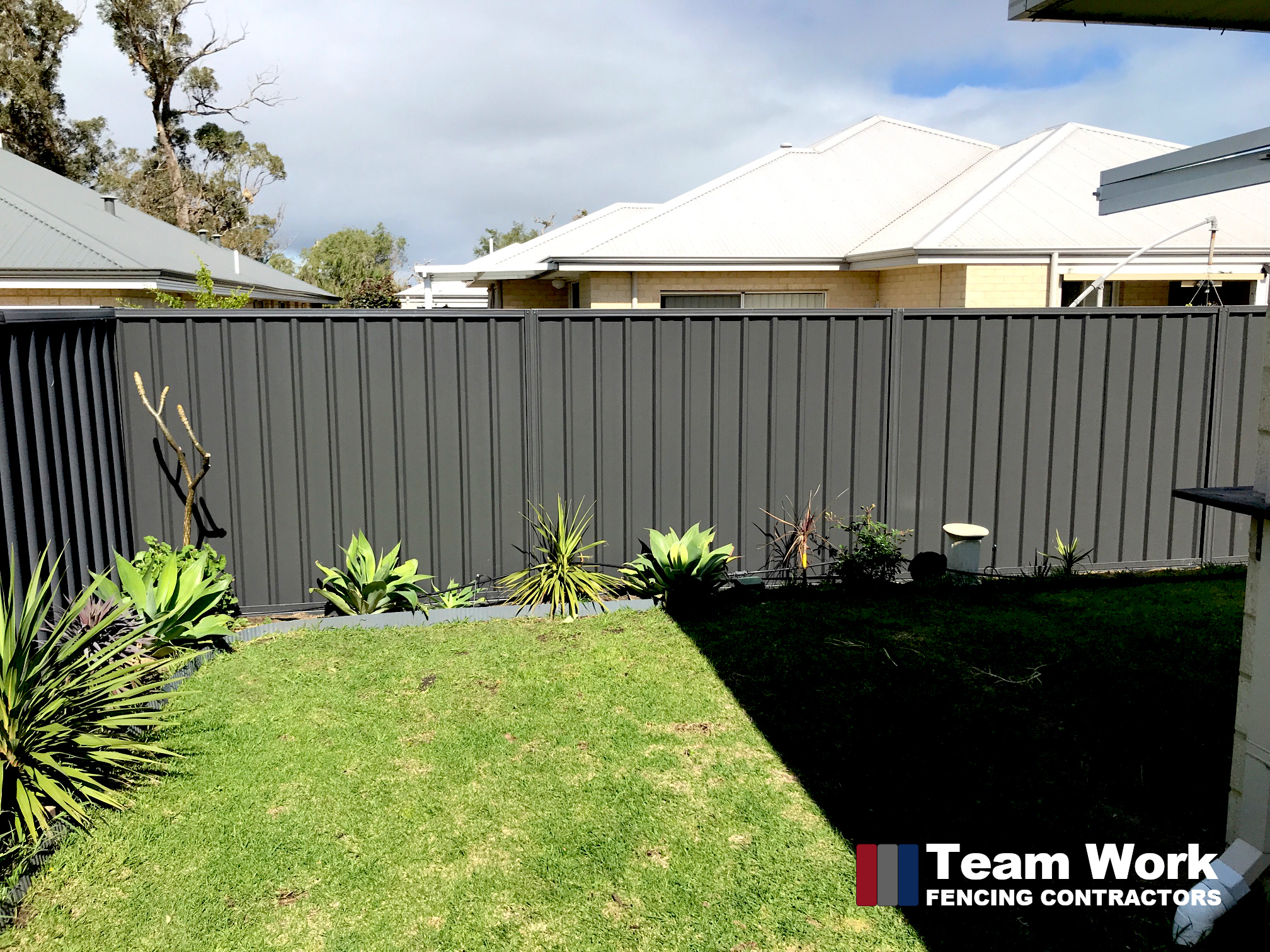 Gray Colorbond Fence Installation in Dalyellup - Bunbury WA