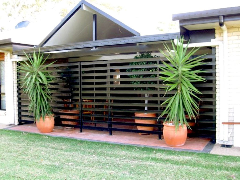 Aluminium slat fences Perth