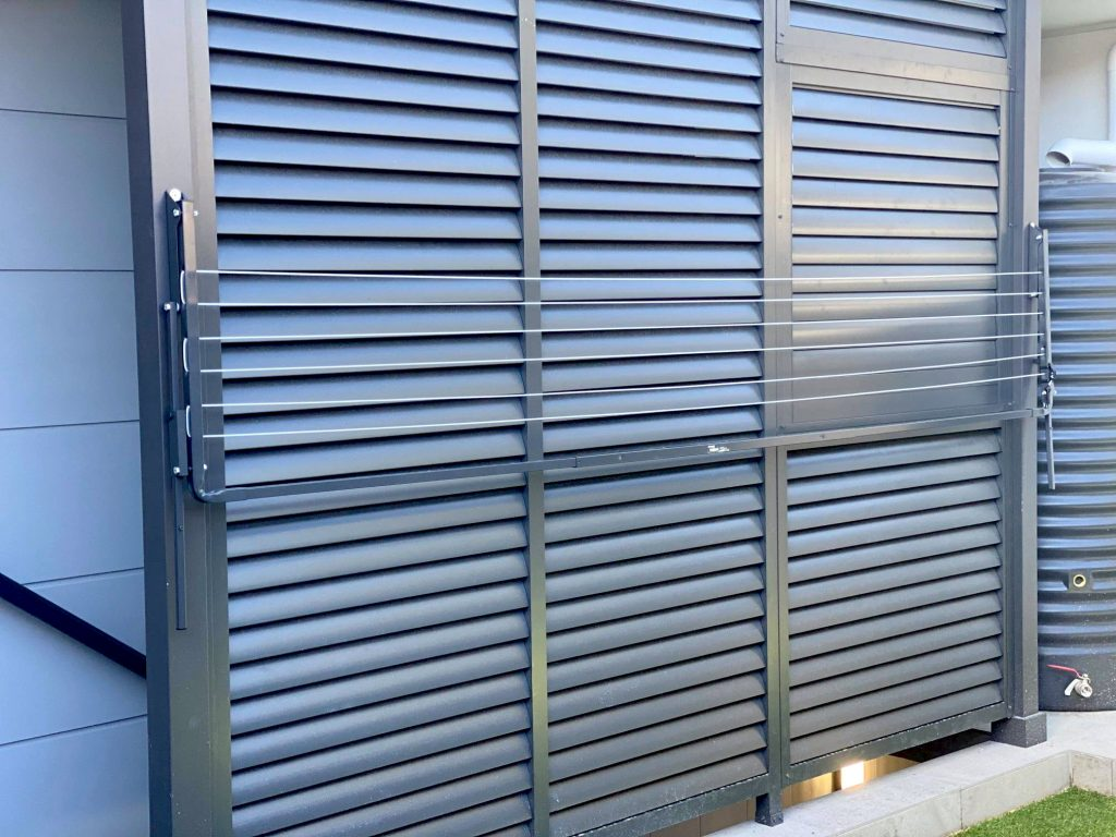 Gray Aluminium Fence Privacy Slats and Louver