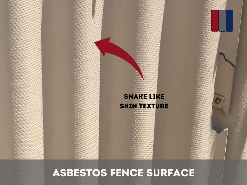 Asbestos Fence Surface