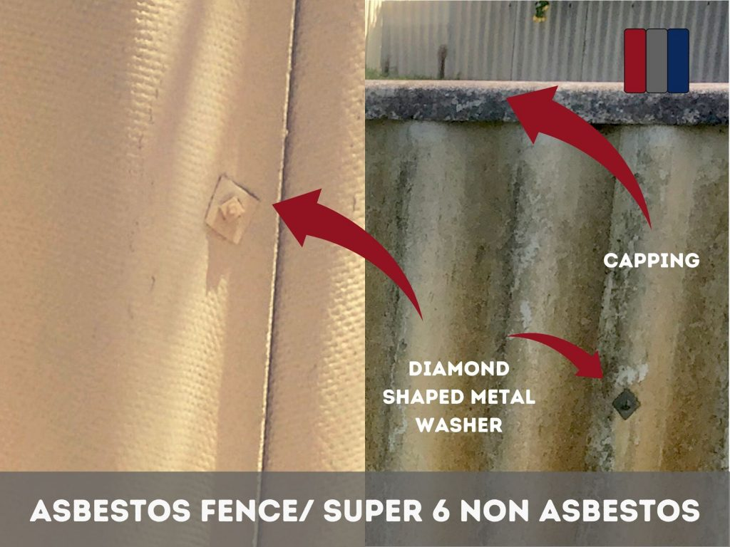 Diamond Shaped Metal Washers for Asbestos Fences