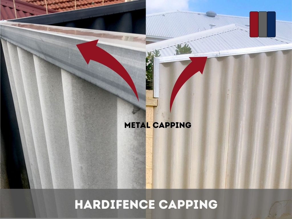 Hardifence with Metal Capping