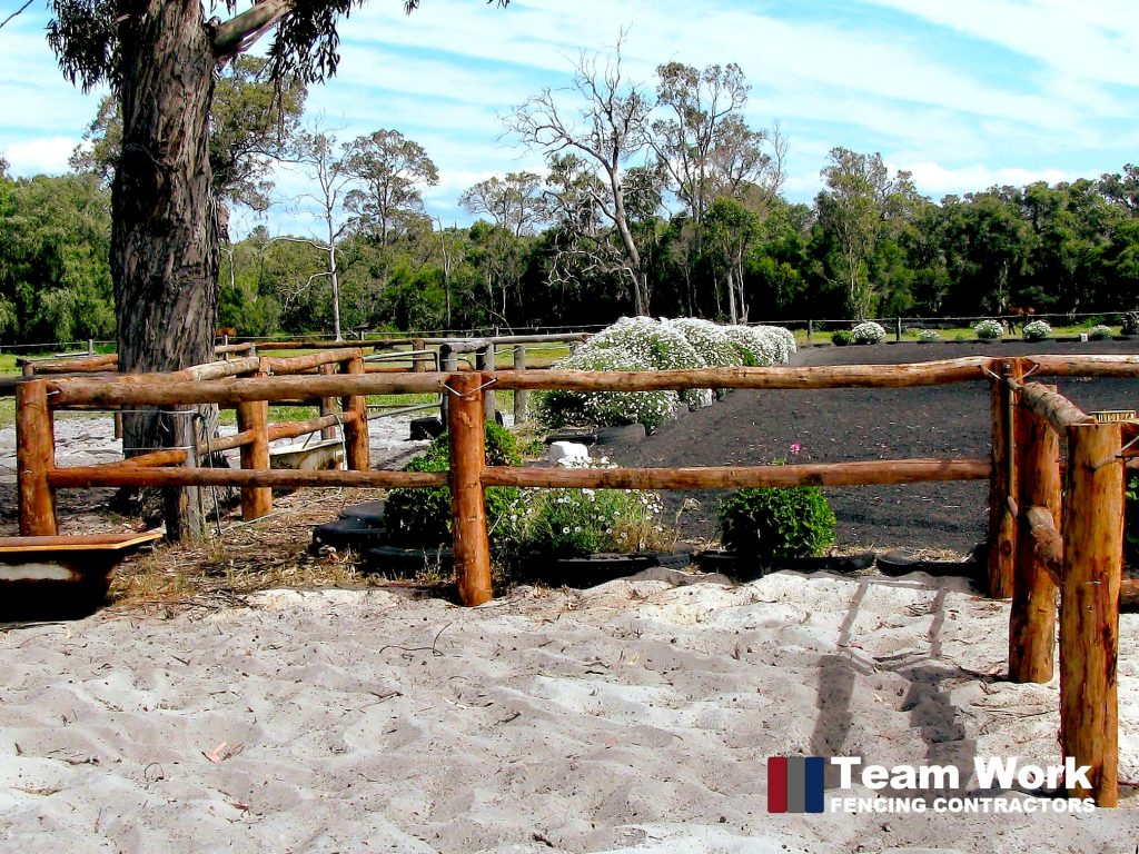 Rural Timber Fencing Commercial Perth WA