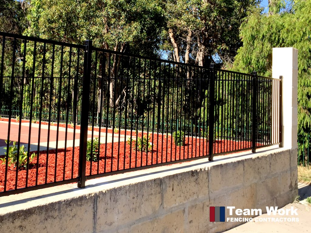 Feature Fence with Colorbond and Decorative Fencing Perth WA