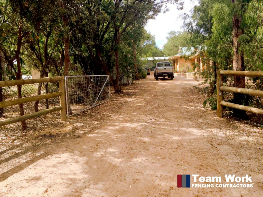Post and Rail Fencing Perth