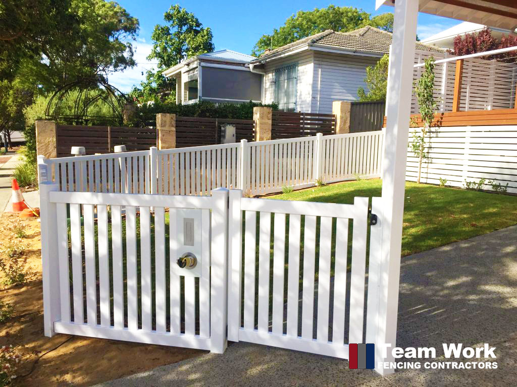 Modern PVC Fencing and Gate Installation Perth