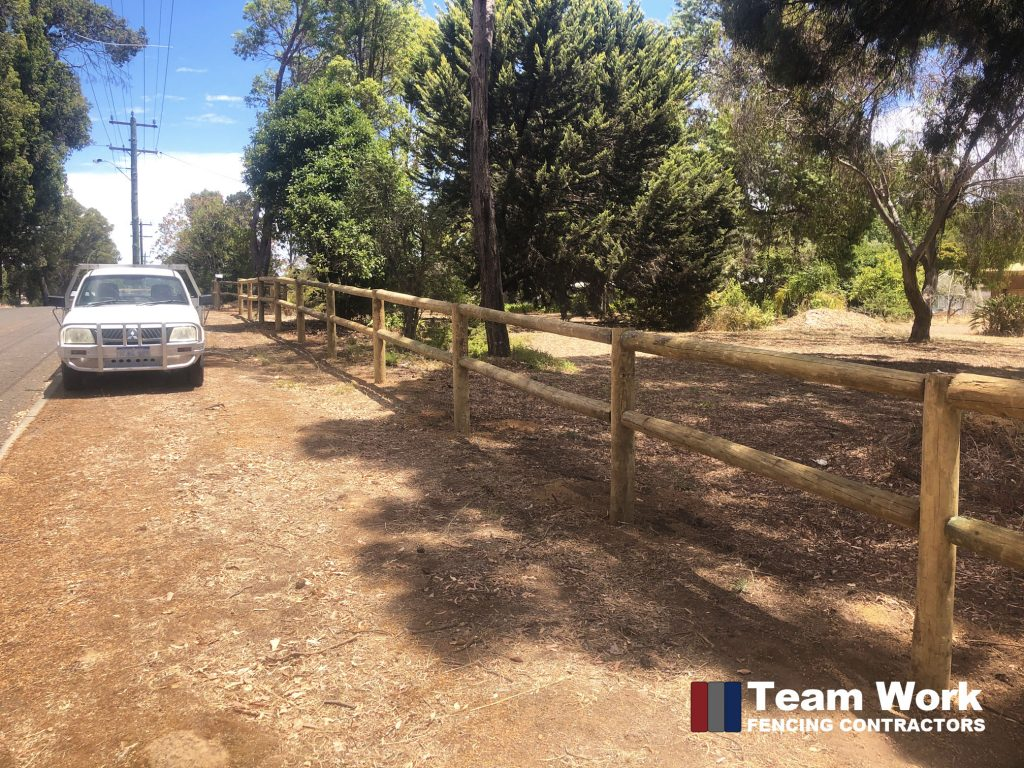 Rural Post and Rail Fence Installation Bunbury and Perth