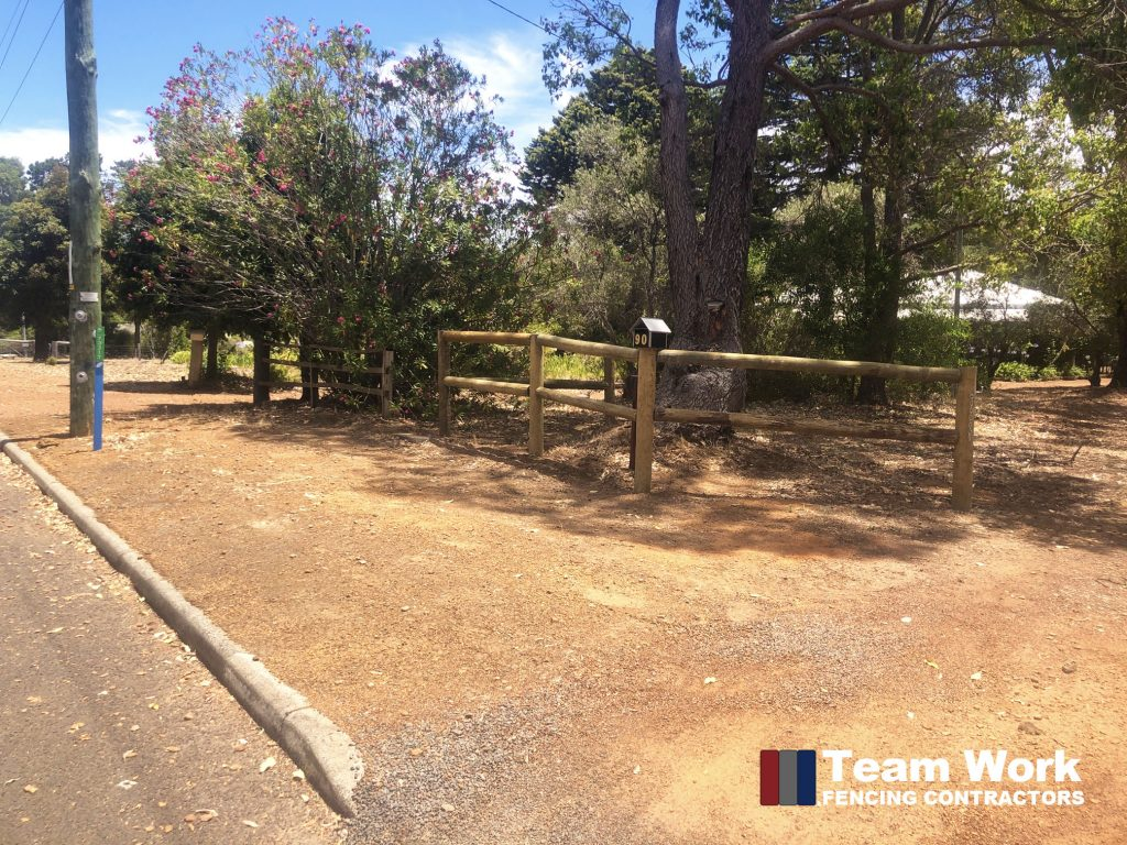 High Treated Pine Rural Fence Installation in Bunbury and Perth