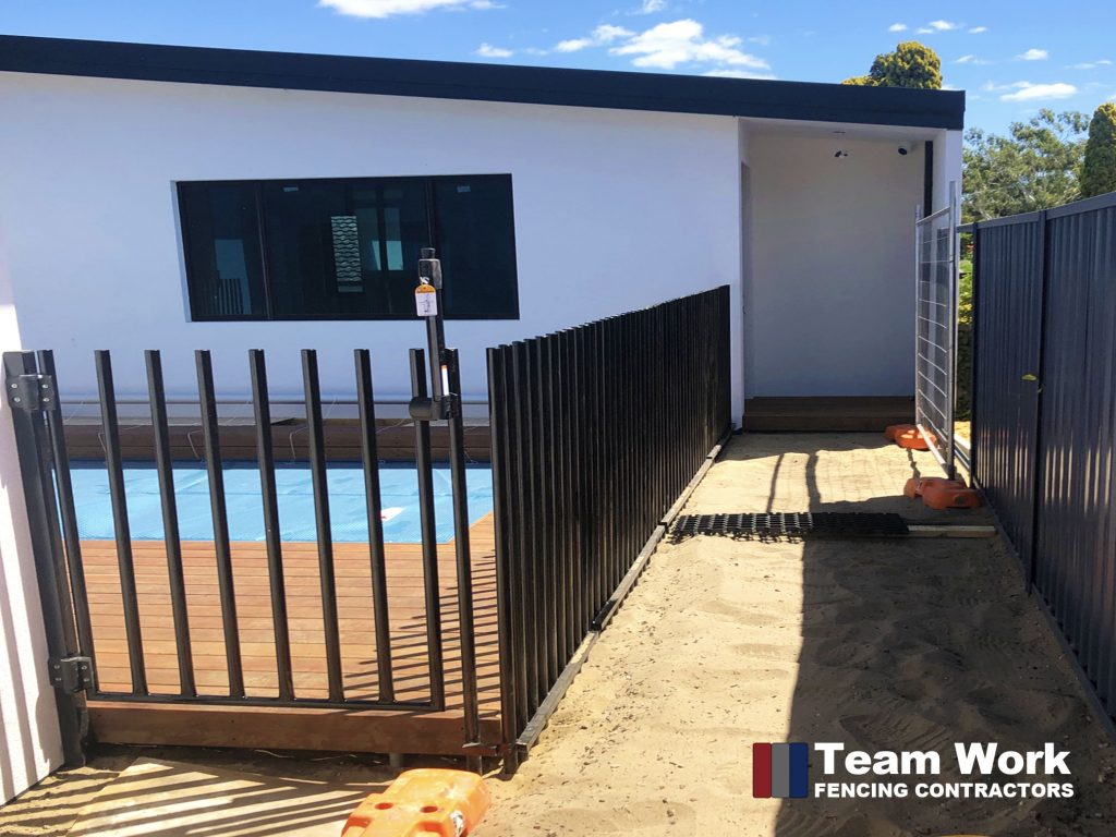 Custom Post Pool Fence and Gate Installation Perth