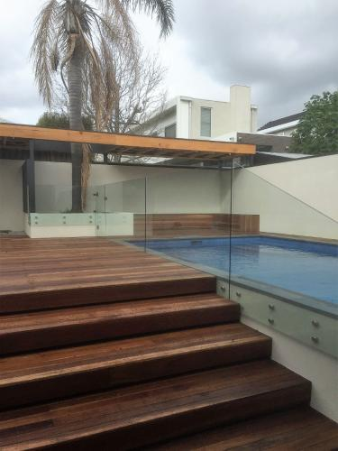 Glass Fence Type Frameless Perth South West
