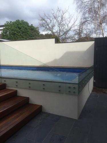 Glass Fencing Frameless - Perth South West