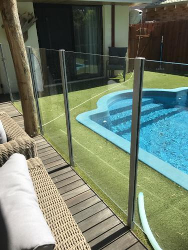 Glass Fencing - Semi Frameless - Perth