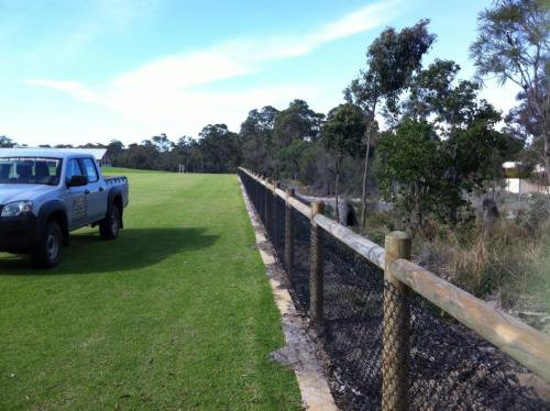 Rural fencing in Busselton