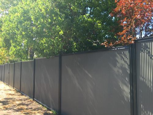 fencing project in Busselton WA