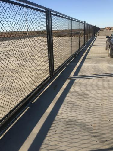 Installation of huge 15m sliding gates Port Headland