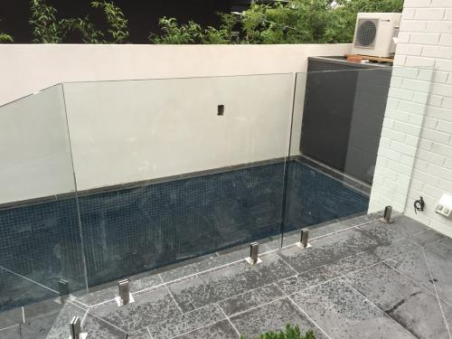 Glass Fencing - Frameless