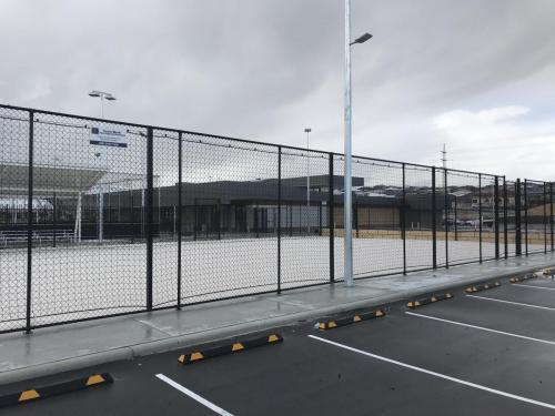 Volley Ball Court Fencing