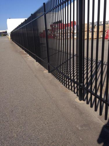 Garrison Fence Black