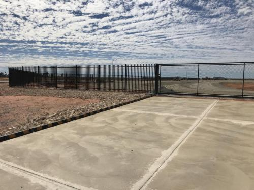 Port Headland 30m Sliding Gate and Garrison Fencing