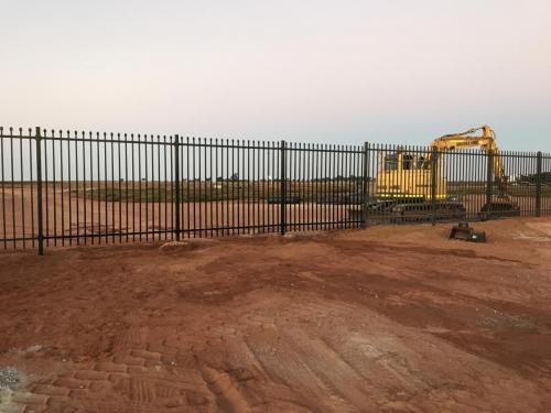 Security Fencing Mine Work